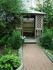 Сад в доме Каюма Насыри