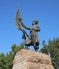 Памятник казаку