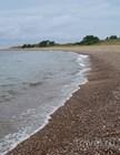 Мелкогалечный пляж, остров Хийюмаа, Эстония