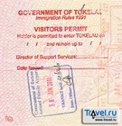 Виза на Токелау