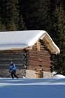 На маршруте для беговых лыж