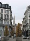 Невысокая брюссельская застройка