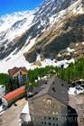 Вид на гостиницы Эльбруса