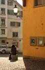 Улицы Цюриха и его жители
