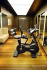 Недавно переоборудованный фитнес-зал