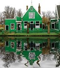 Типичный голландский домик
