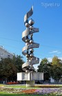 "Монумент ""Молекула ДНК"""