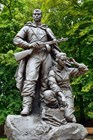 Монумент воинам в парке Победы