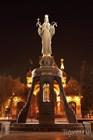 Скульптура Святой Екатерины - покровительницы города
