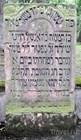 Надгробие Амшеля Майера Ротшильда (1744-1812) на старом еврейском кладбище Франкфурта