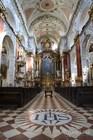 Интерьер церкви Святого Микулаша