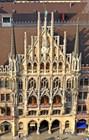 Marienplatz. Вид  c башни Святого Петра
