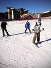 Горные лыжи на курорте Архыз