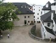 Внутренний двор крепости