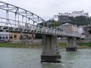 Пешеходный мост Mozartsteg