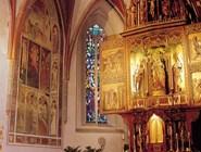 Интерьер церкви Cанкт-Освальд