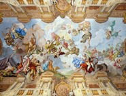 Роспись потолка в Мраморном зале