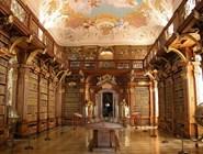 Библиотека в монастыре