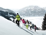 Прогулки на снегоступах в горах Целль-ам-Зее