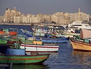 Лодки у берегов Александрии
