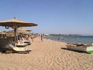 Пляж отеля Dahabeya