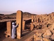 Храм Serabit el-Khadim, посвященный богине Хатор, Синай