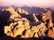 Вид с вершины горы Моисея, Синай
