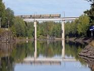 Железнодорожный мост через Сайменский канал