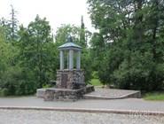 Мемориал в честь битвы 1741г. на территории крепости