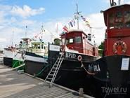 Лодки, построенные в начале прошлого века, у причала в Лаппеенранте