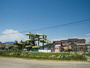 Небольшой аквапарк и музей Благовещенской