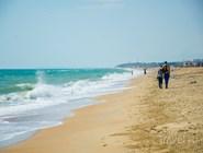 На пляже Благовещенской