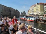 Водная экскурсия по городу