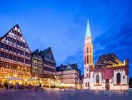 Altstadt в вечернем освещении