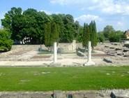 Развалины римского Аквинкума