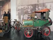 Экспозиция музея почты
