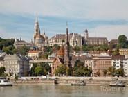 Церковь Святого Матьяша, вид со стороны Дуная