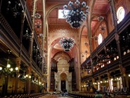 Интерьер Большой синагоги
