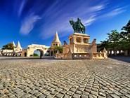 Памятник Иштвану Великому на площади Рыбацкого бастиона