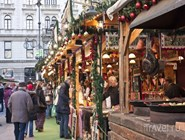 Рождественская ярмарка на площади Вёрёшмарти