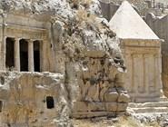 Древние гробницы долины Кедрон