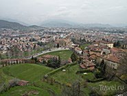 Вид на Новый город Бергамо