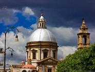 Вид на кафедральный собор, Палермо