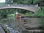 Городской канал (Pilseteas Kanals) в центре Риги