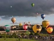 Чемпионат воздушных шаров в Вильнюсе