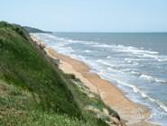 Ширина пляжей зависит от погоды: иногда волны их подмывают