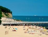 Пляж в Гдыне
