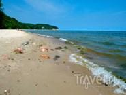Песчаный берег рядом с Гдыней