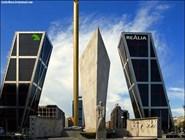 Башни-близнецы КИО в Мадриде