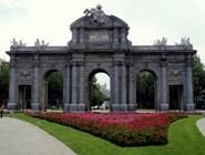 Ворота  Пуэрта-де-Алькала в Мадриде